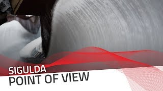 Sigulda   Skeleton Point Of View   IBSF Official