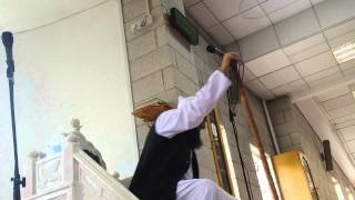 Moulana Tariq Jameel giving Juma Khutba