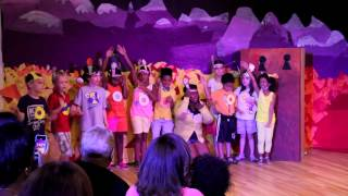 Hot Spring! by: The Discoverers: KIDS CREATIVE SUMMER CAMP 2014 SESSION 1