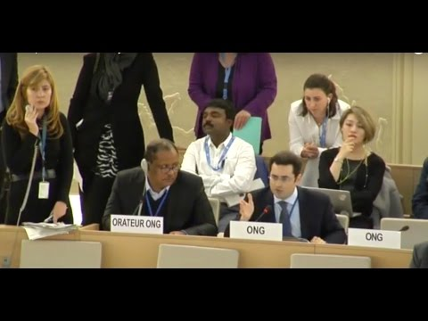 Dictatorships at UNHRC try to silence UN Watch's Hillel Neuer