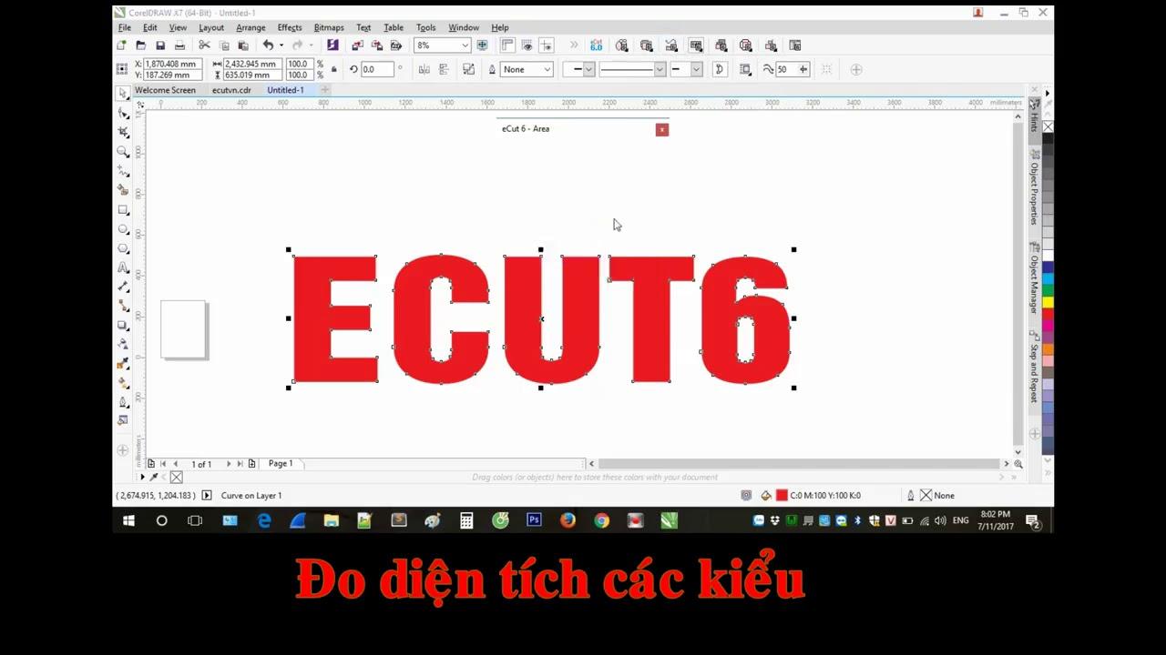 Giới thiệu phần mềm eCut6 – Hỗ trợ quảng cáo trong CorelDraw X3,X4,X5,X6,X7,X8,2017