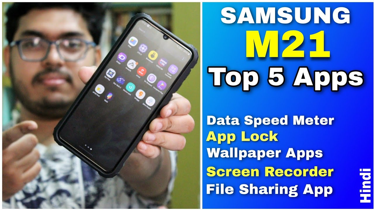 Samsung Galaxy M21 Top 5 Apps You Must Have In Your Mobile Wattamonster Hindi Youtube