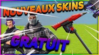 OBTENIR *NOUVEAUX SKINS* GRATUIT !!! FORTNITE Battle Royale