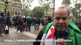 من باريس  آراء أبناء الجالية الجزائرية  2019.04.28