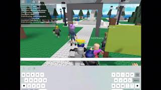 Playing with ash wag and max on roblox
