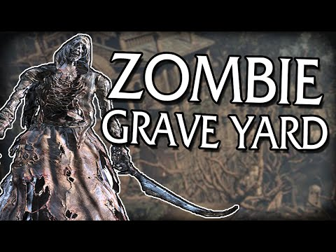 ZOMBIE GRAVEYARD - Dark Souls 3: Hollow's Blind Playthrough [Ep 12]