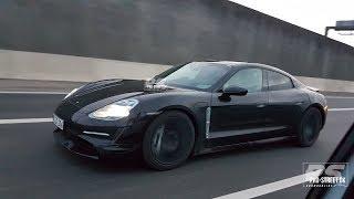SPYVIDEO: 2020 Porsche Taycan prototype in Copenhagen