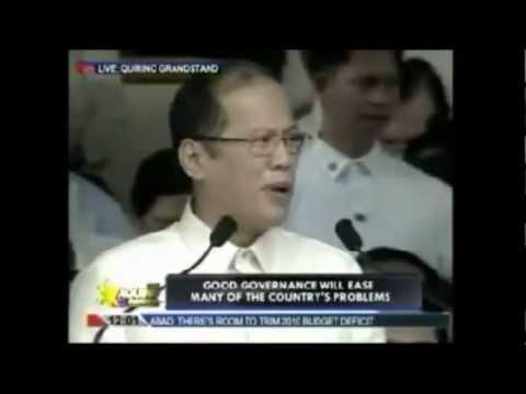 Noynoy Aquino sings Pinoy ako