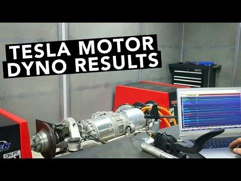 Tesla Motor with Motec ECU On The Dyno - Lotus Evora Electric Car Project EP02