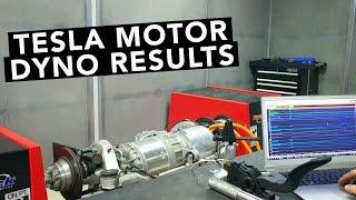 Tesla Motor with Motec ECU On The Dyno - Lotus Evora Electric Car Project EP02