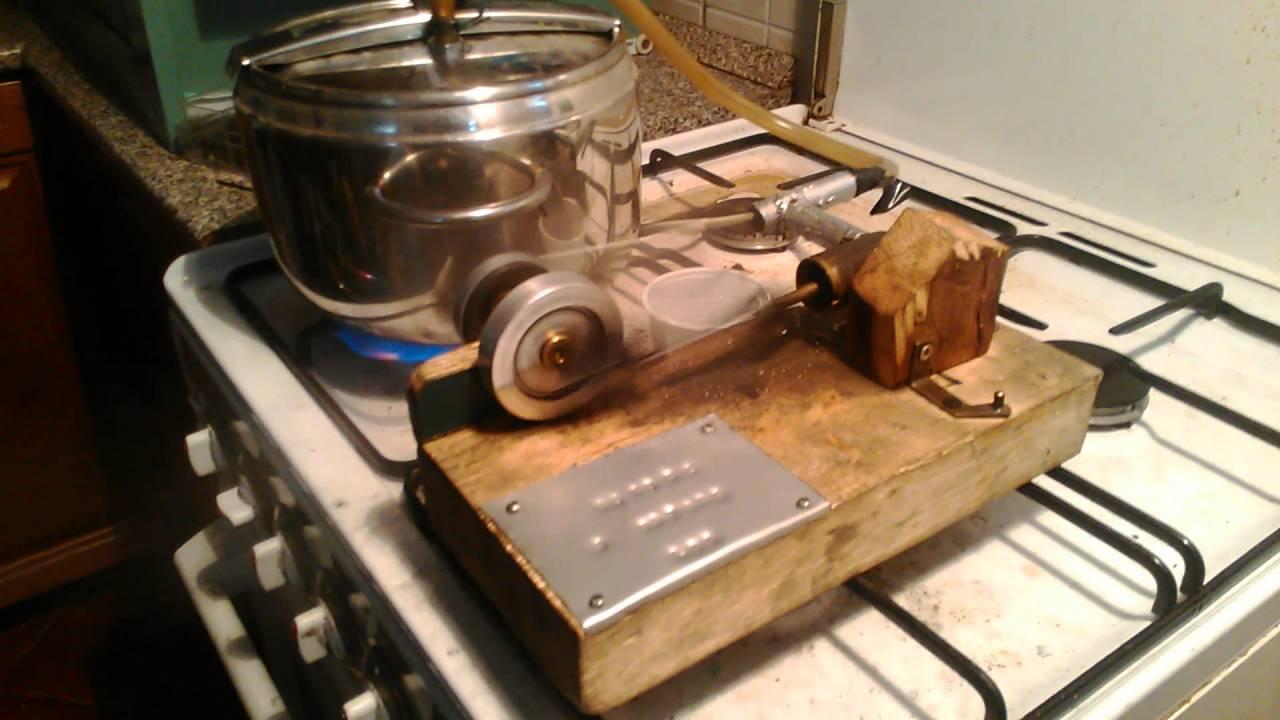 Motore a vapore fai da te autocostruito con pezzi di - Bagno di vapore lezaeta fai da te ...