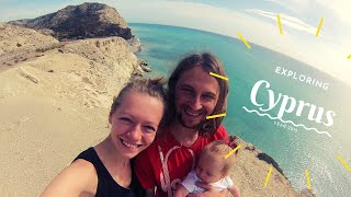 Our first family trip - Cyprus (2015) | Music: Reinis Jaunais - Black Sand Beach