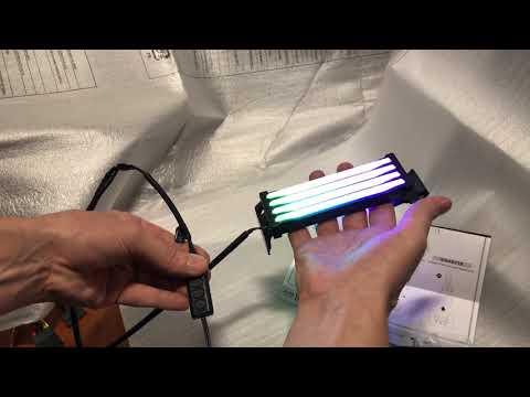 Набір RGB-підсвічування ОЗУ Thermaltake S100 DDR4 Memory Lighting Kit (CL-O021-PL00SW-A)