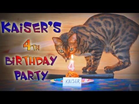 Kaiser's 4th Birthday Party