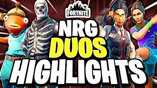 Why NRG can WIN Fortnite World Cup DUOS Symfuhny MrSavage Benjyfishy Zayt Highlights