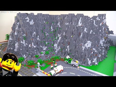 LEGO City Update: Hillside Foliage, Mine Backdrop, & More Feb. 18, 2018