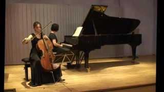 Beethoven cello sonate C - dur op102 I Andante Allegro vivace  Natalia Osipova