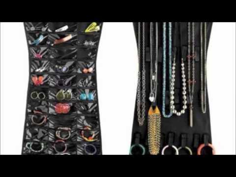 BARGAINS GALORE'S LITTLE BLACK DRESS JEWELRY ORGANIZER USAGE
