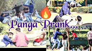 Panga Prank  Part-1  Crazy Prank Video  Watch Till The End