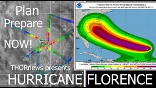 Hurricane Florence expected to strike East Coast as a Major Hurricane