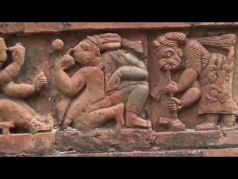 Bishnupur    Temples of Terracotta