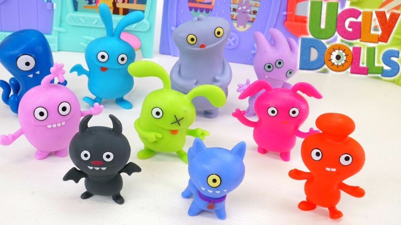 Download Ugly Dolls Movie Gibberish Cat Doll Time Surprise Blind Bag toys Moxie Ugly Dog Collection