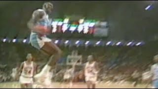 Michael Jordan UNC Dunk