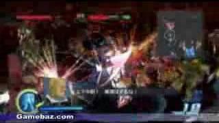 Gundam Musou PS3 Gameplay Video MSZ-006 Z Gundam