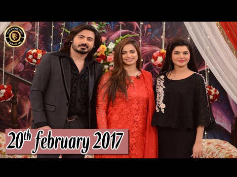 Good Morning Pakistan - Guest: Noor Bukhari With Her Husband 20th February 2017 - Top Pakistani show