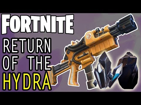 RETURN OF THE HYDRA - SHADOWSHARD or OBSIDIAN??? | Fortnite