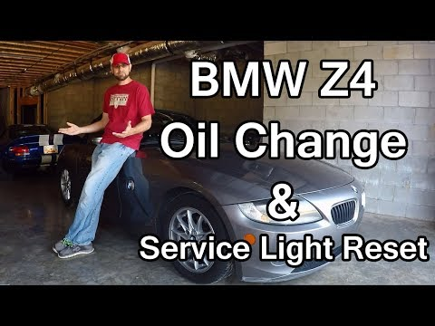 BMW Z4 Oil Change with Service Light Reset