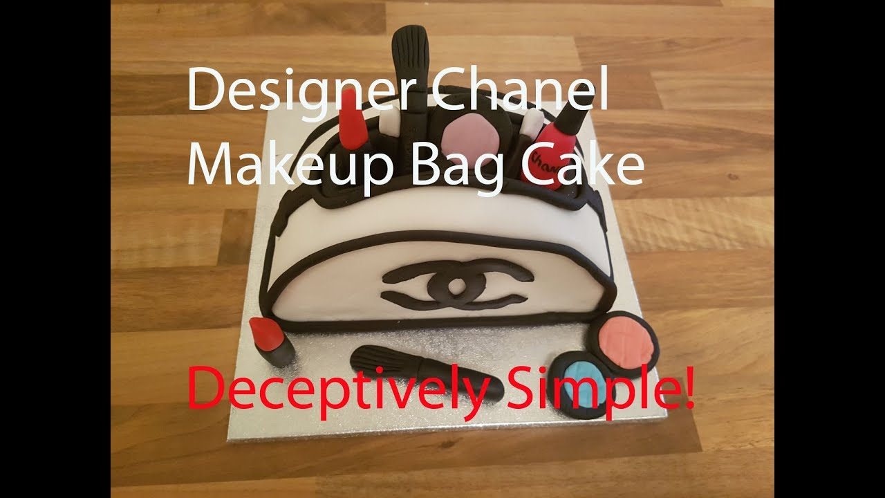 How To Make Makeup Bag Cake | Saubhaya