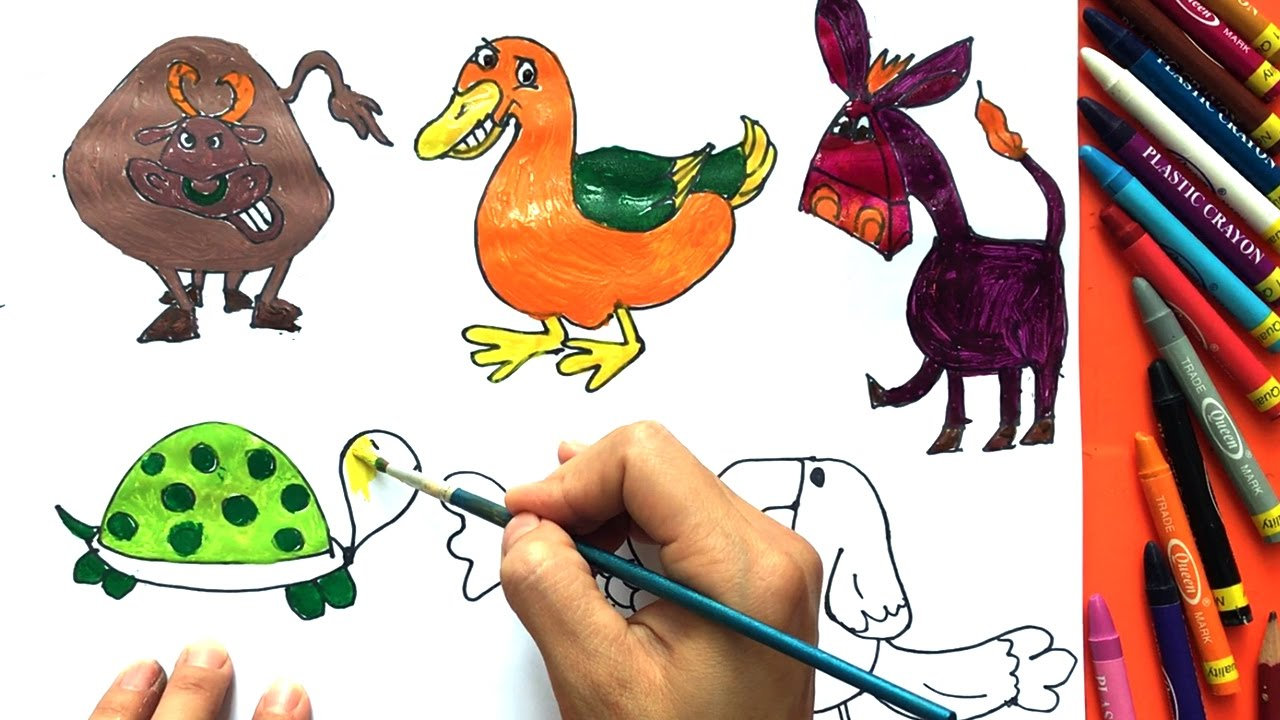 Uncategorized How To Draw Animals For Children how to draw animals for kids drawing art video baby boong kids