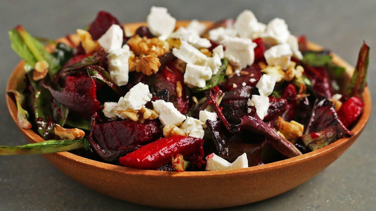 maxresdefault - Hearty Roasted Veggie Salad