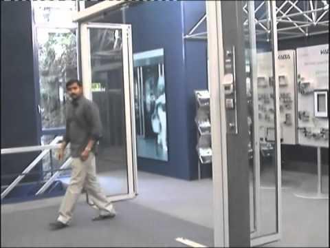 DORMATIC KABA GILGEN BREAK OUT AUTOMATIC DOOR & DORMATIC KABA GILGEN BREAK OUT AUTOMATIC DOOR - YouTube