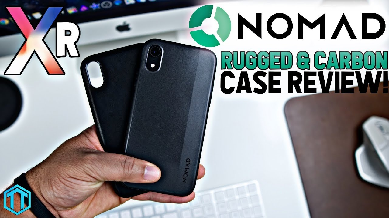 buy online 0f78c c8e99 iPhone Xr Nomad Rugged & Carbon Case Review!