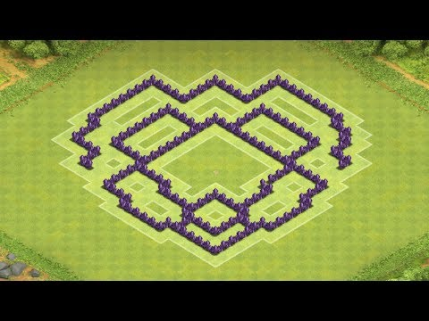 Clash of Clans - Town Hall 7 Trophy Base/Clan War Base (The Mantis)