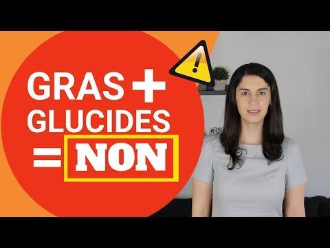 Gras + Glucides = NON ! (Difficile De Perdre Du Poids)