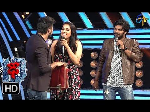 Rashmi Funny Task   Dhee 10   11th October 2017   ETV Telugu
