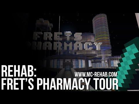 Rehab Minecraft Server: Fret's Pharmacy Tour (M868)