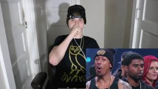 Ta'Rhonda jones & Lil Bibby gets roasted by the gold squad wild'N out REACTION