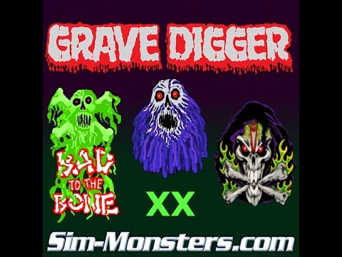 grave digger 25th anniversary freestyle