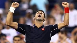 Novak Djokovic beats Andy Murray in ATP Masters quarter-final in Paris.