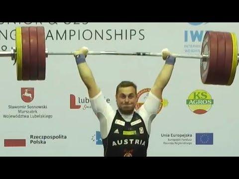 David Fischer - Junioren Vize-Europameister 2018 im Zweikampf und Stoßen