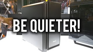 Best new SILENT cases on the market? be quiet! Silent Base 601 & 801