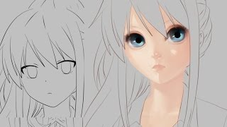 Part 1: How to Paint a Realistic Anime Face