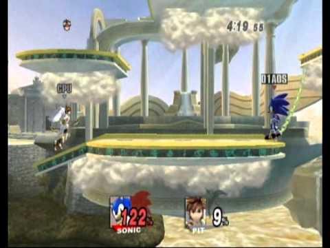 Super Smash Bros. Brawl: All-Star Mode - Intense - Sonic - No Continues
