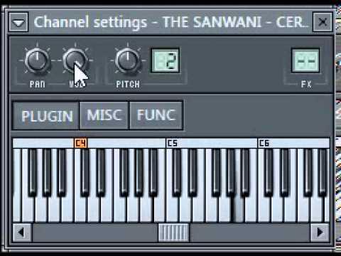 THE SANWANI - Cerita Indah (Cerita Sesaat) Synth Cover