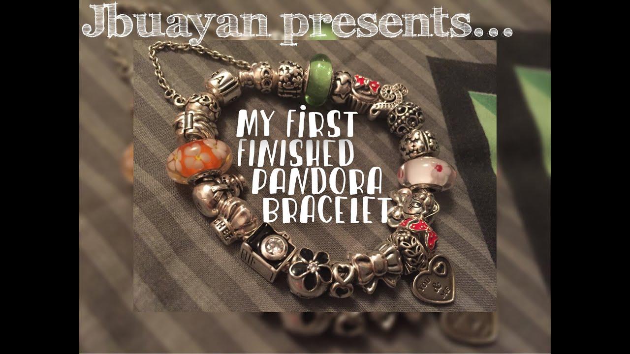 full pandora bracelet