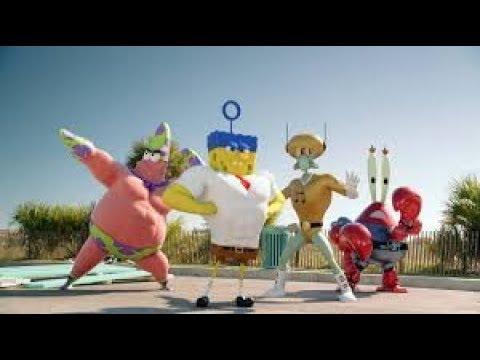 Губка Боб и его друзья против Пирата  Бургероборода. Часть 1 .Губка Боб в 3D